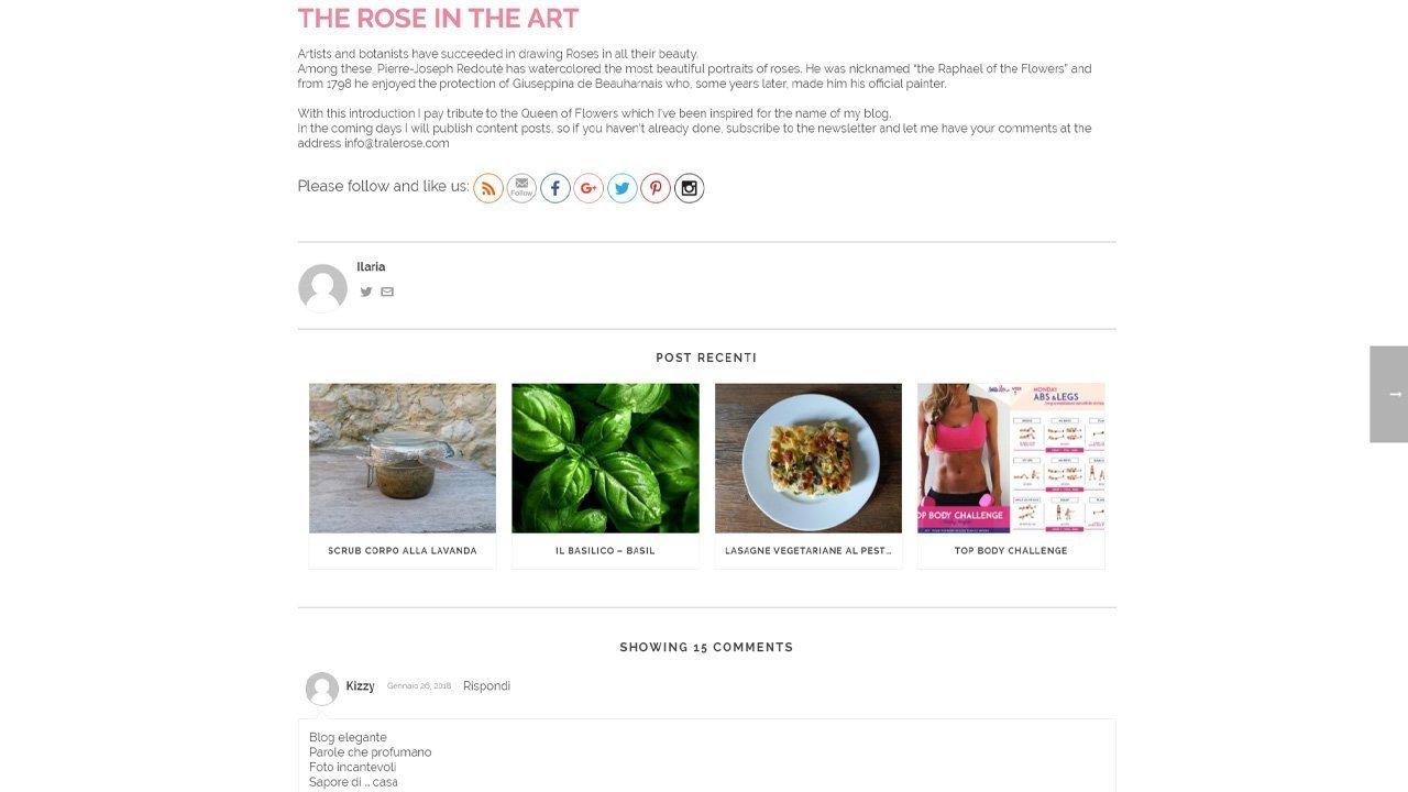Tra le Rose